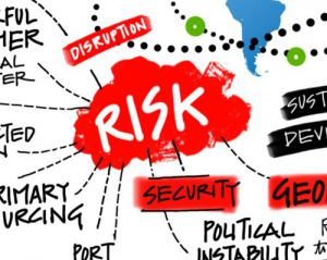 Assessing risk and spend in supply chains