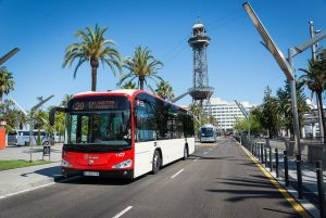 Barcelona procures electric buses