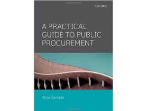 New book provides practical public procurement guidance